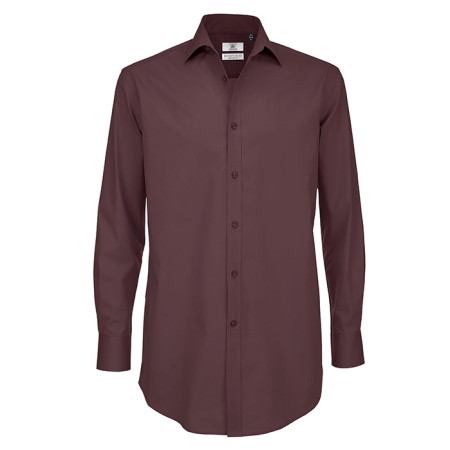 Black Tie Long Sleeve Shirt