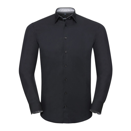 Men´s LS Tailored Contrast Ulitmate Strech Shirt