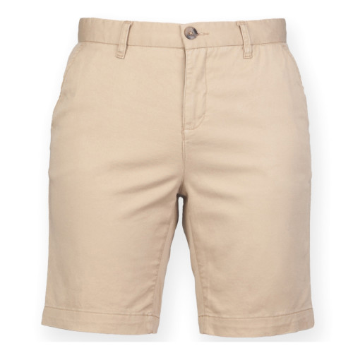Front Row Stretch Chino Shorts