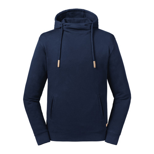 Pure Organic High Collar Hooded Sweat