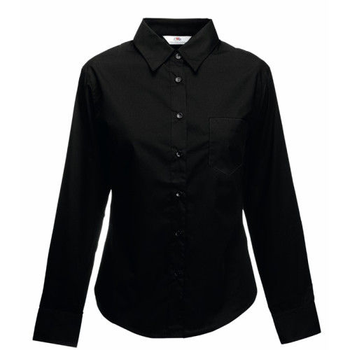Ladies Long Sleeve Poplin Shirt