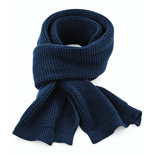 Classic Waffle Knit Scarf
