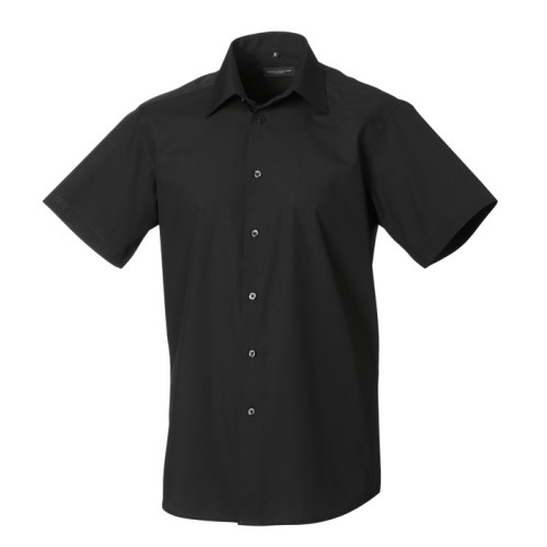 Men´s SS Easy Care Tailored Poplin Shirt