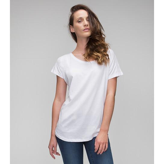 Mantis Women's Loose Fit T t skjorte Firmaprofilering