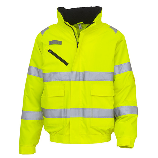 Hi Vis Fontaine Flight Jacket