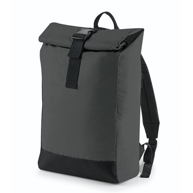 Reflective Roll Top Backpack Profilmakarna i Södertälje AB