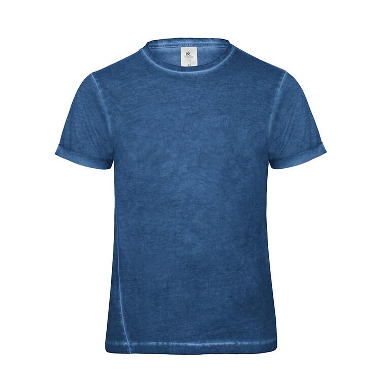 B&C Ekologisk V ringad T shirt Herr Profilprodukter