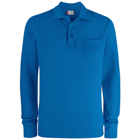 Basic Polo LS Pocket
