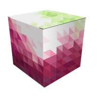 Pop-up display Cube