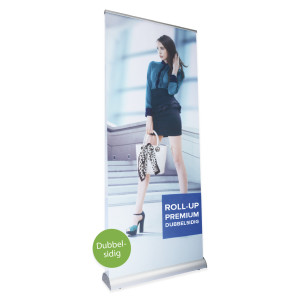 Roll-up dubbelsidig