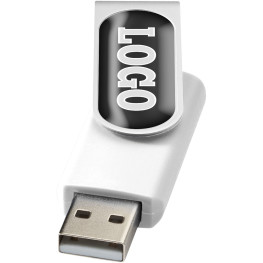 Rotate-doming USB 2 GB