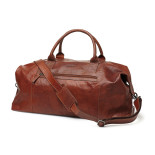 Sebago Leather Duffle Bag