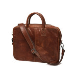 Sebago Leather Laptop Bag