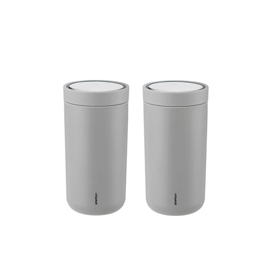 Stelton To Go Click mugg 20 cl, 2-pack