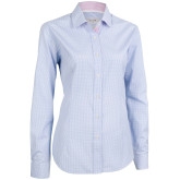 Cotton Blend Small Check Lady