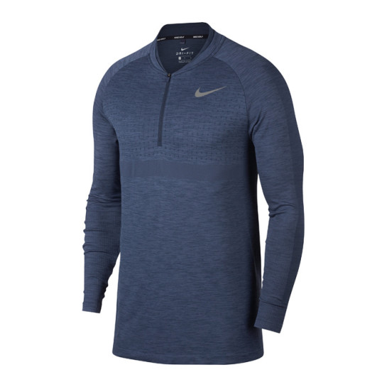Nike Seamless Knit 1/2 Zip LS Cover Up