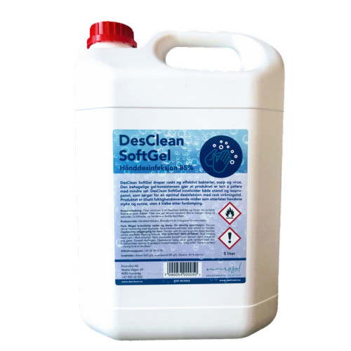 DesClean SoftGel 85%