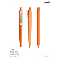 Prodir DS8 kulepenn - Metall / Soft Touch