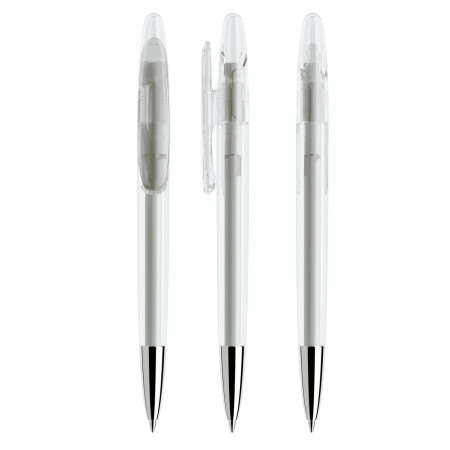 Prodir DS5 bläckpenna - Transparent plast / Metall