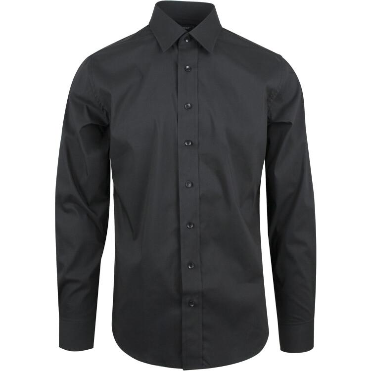 Skjorte Sanremo til herre, stretchskjorte, billig skjorte